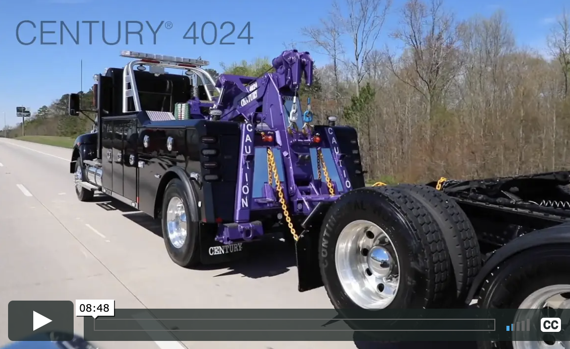 Century® 4024 Video Demonstration from Miller Industries