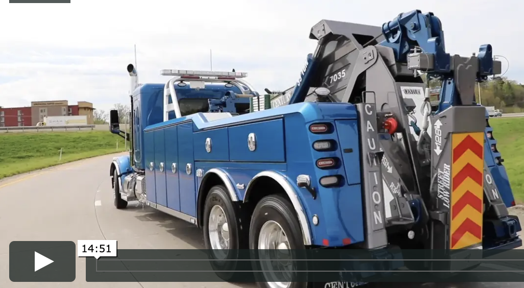 Video covering the benefits of the Century 7035 heavy-duty wrecker from Miller Industries.
