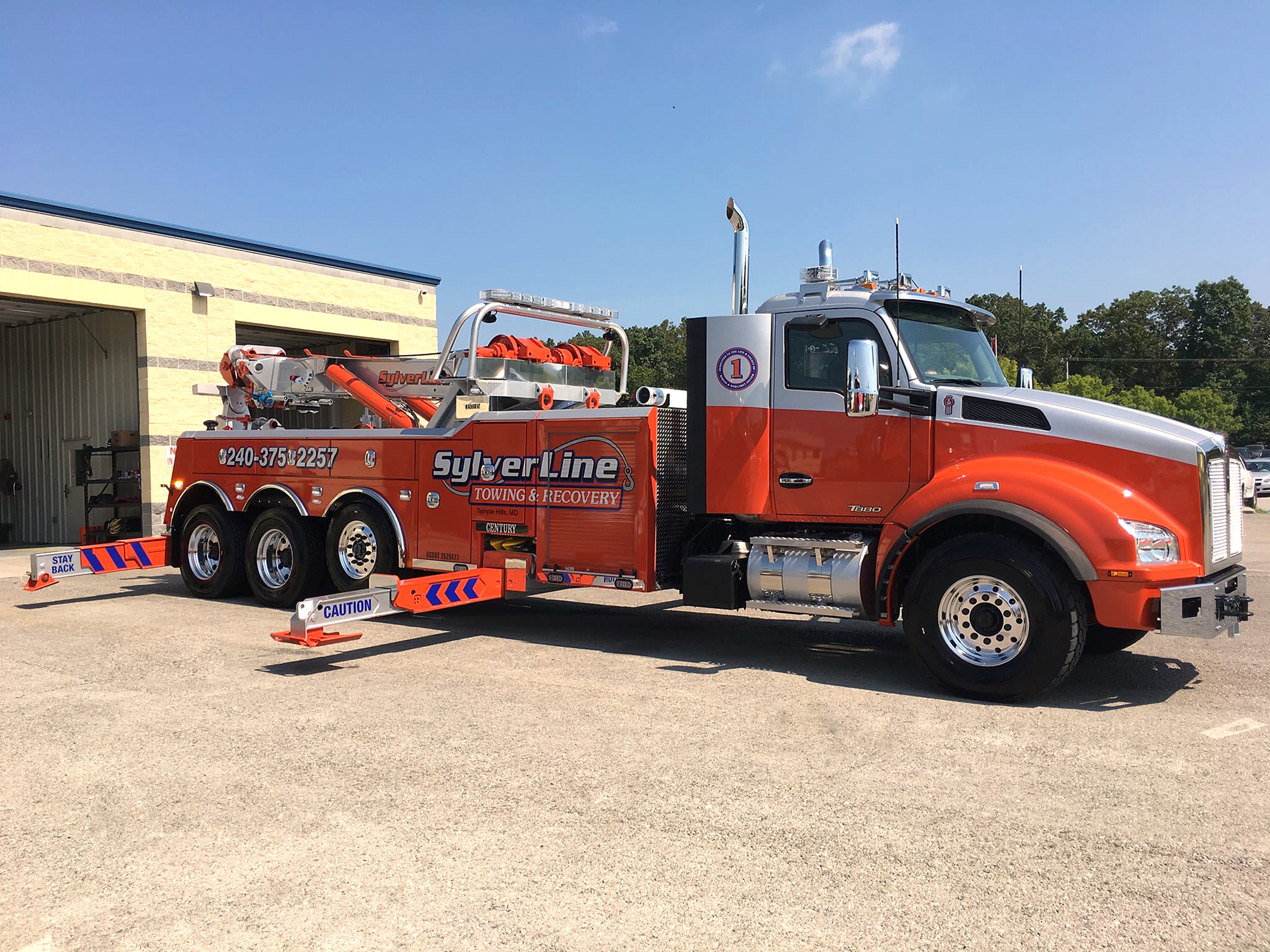 SylverLine Towing & Recovery, Temple Hills, MD