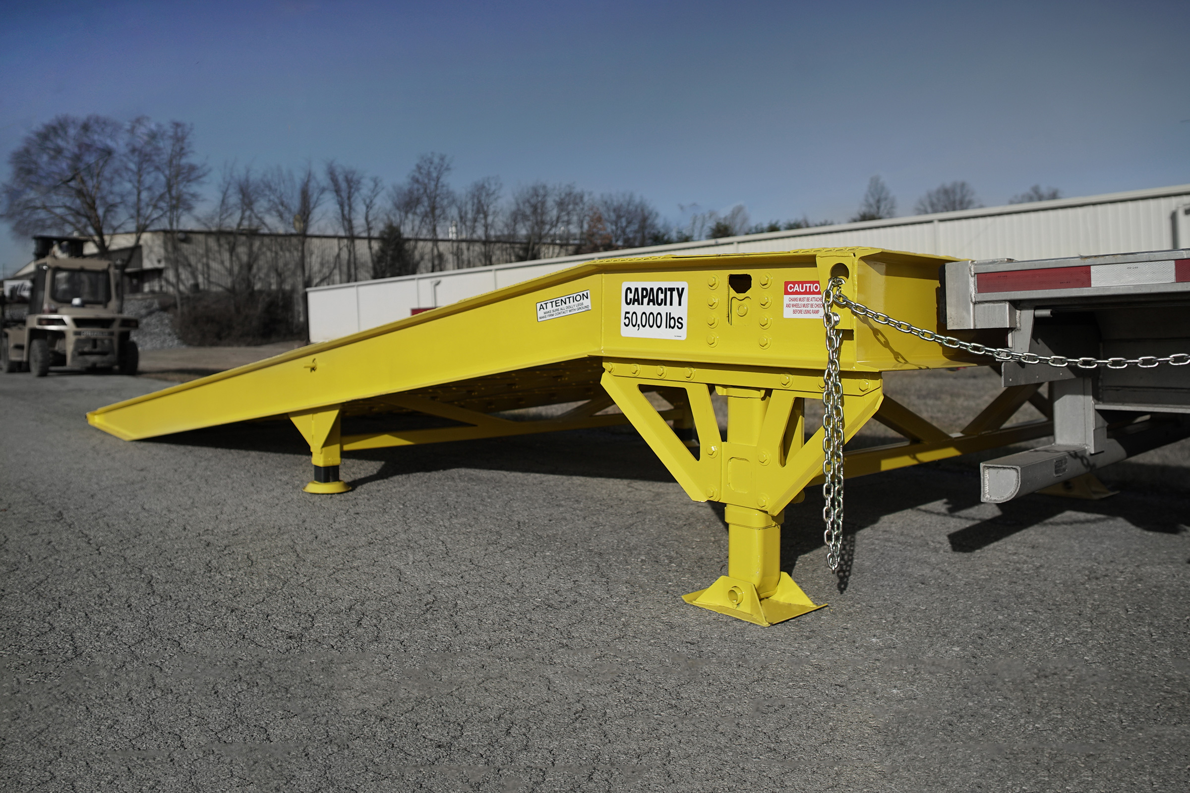 Special Transport Miller No loading dock, no problem. Miller industries has a ramp solution for you.