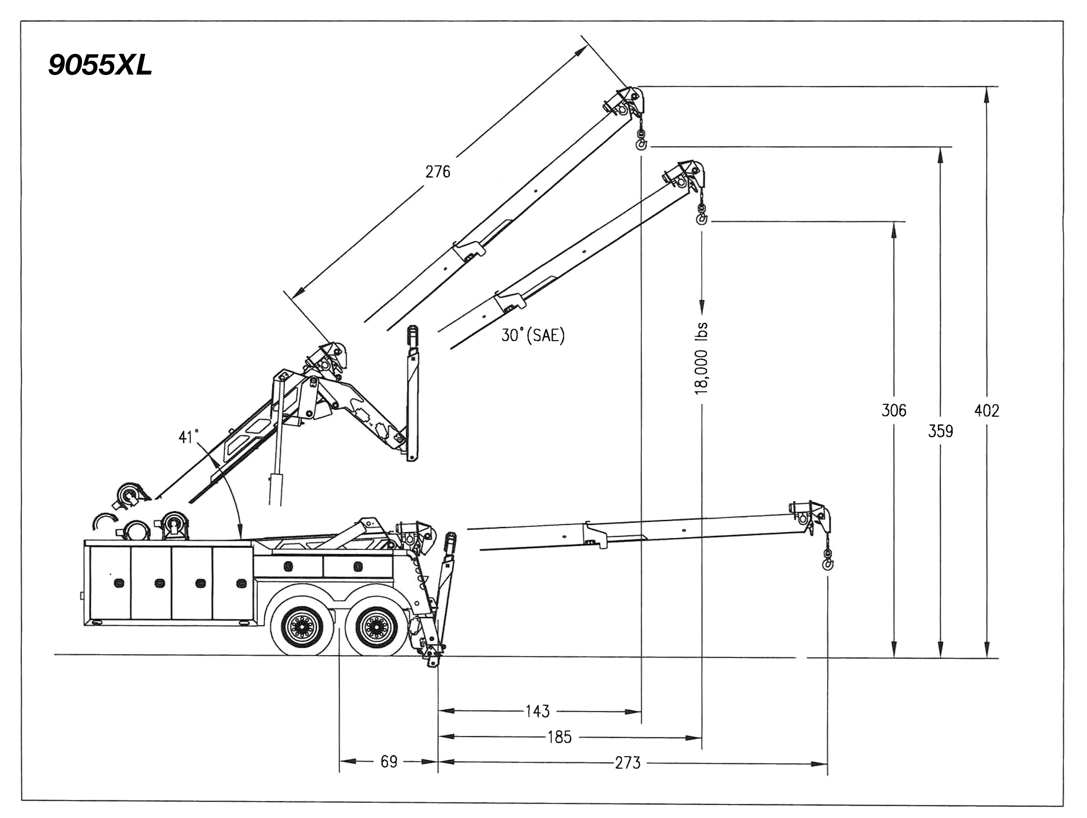 Century Century 9055XL Diagram