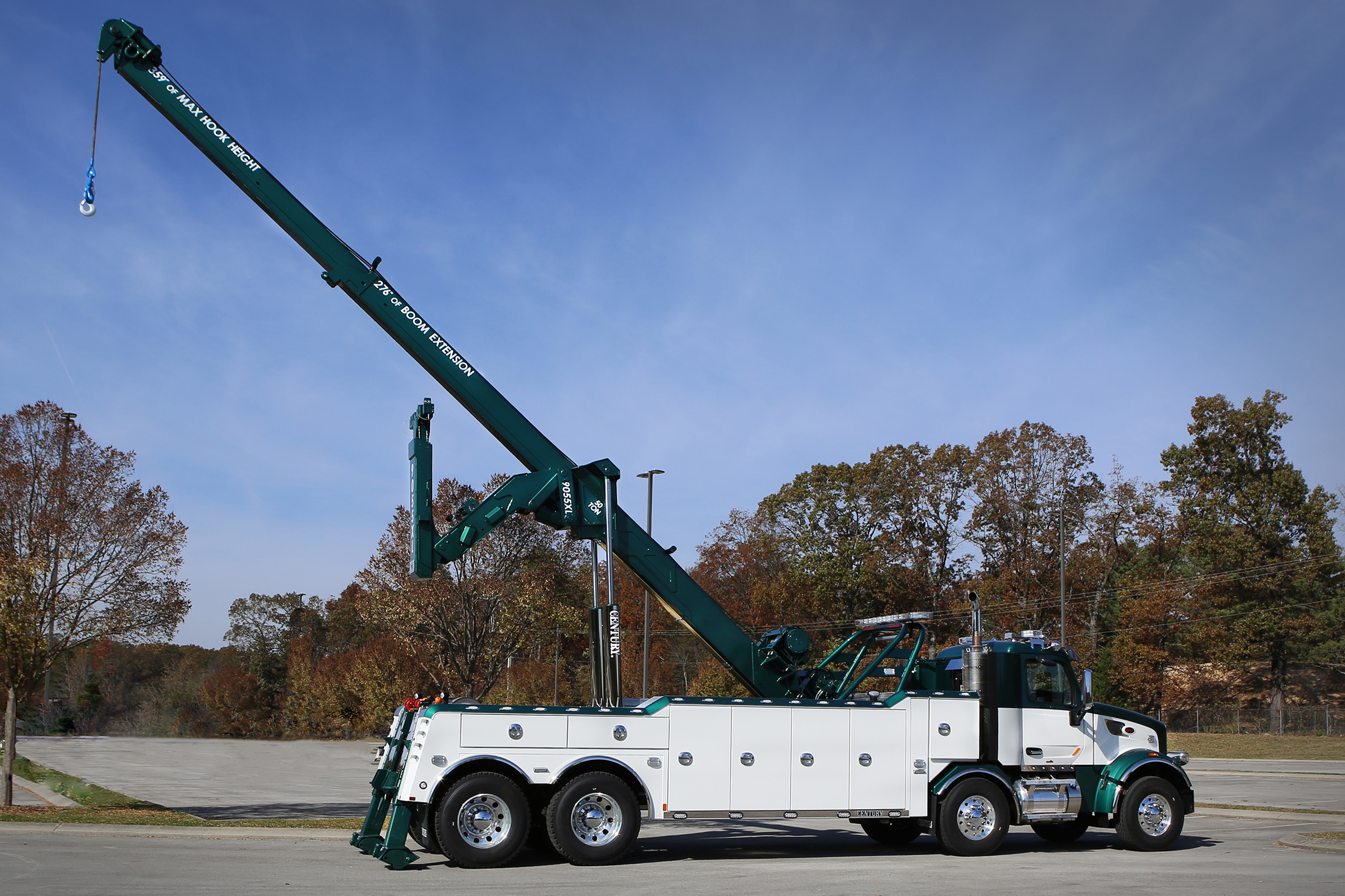 Century 9055XL Longer Recovery Boom