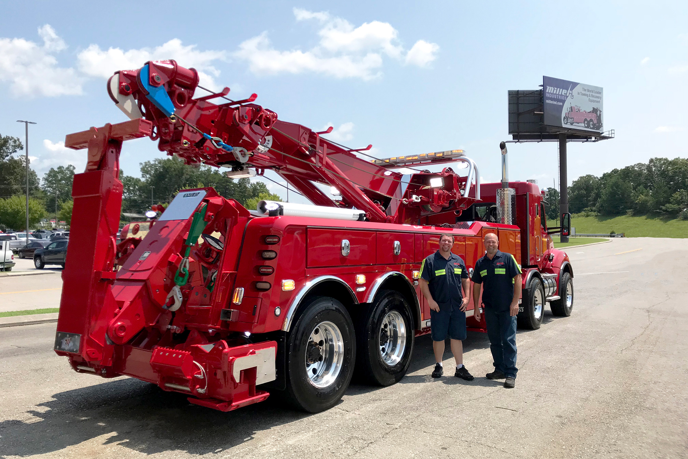 Gregory's Towing - Brookshire, TX / Century 1150 Rotator