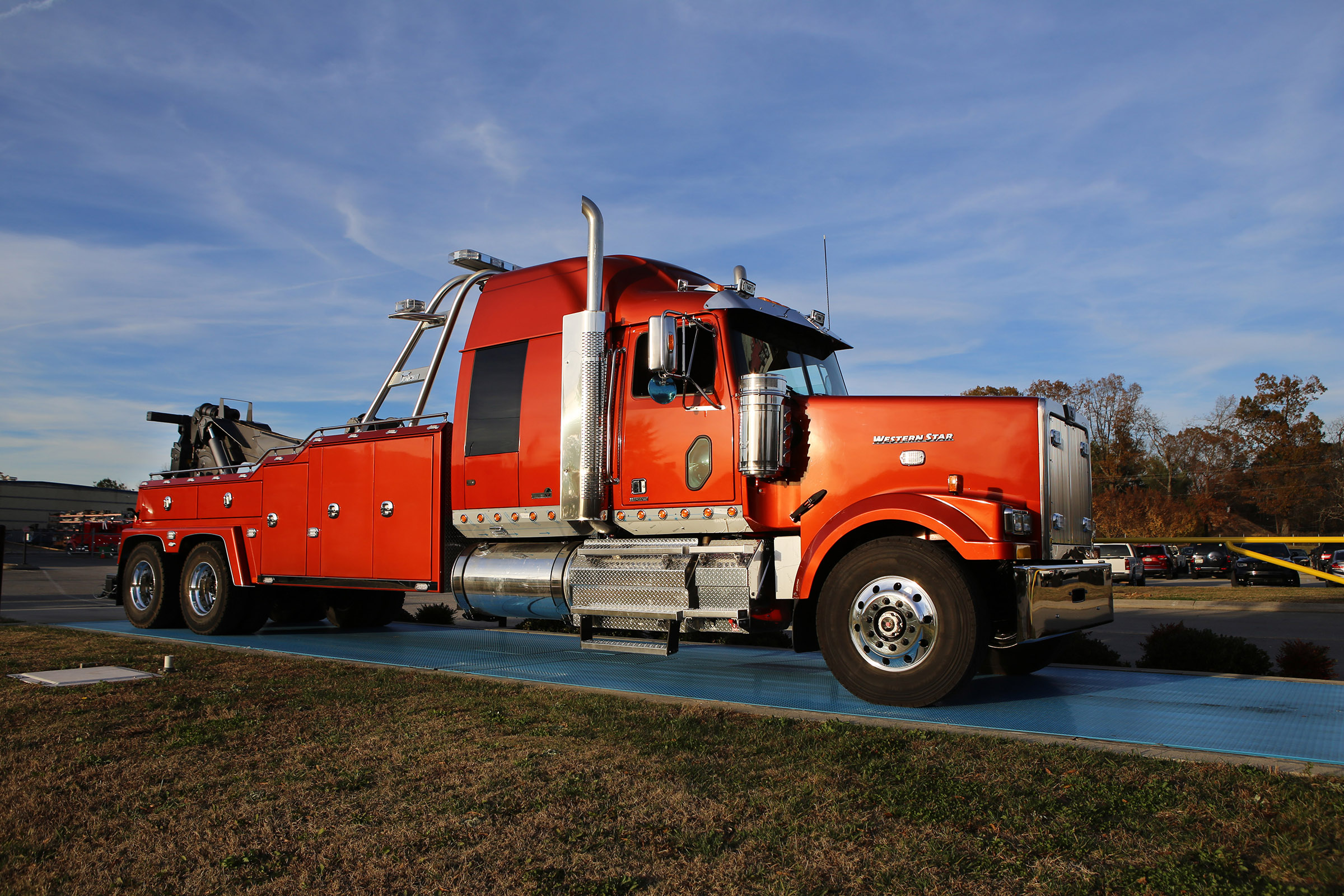 GTS Tire & Towing, Lincoln, NE / Vulcan V-70  Western Star 4900 Chassis