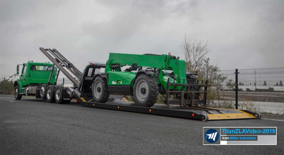 titan zla on green Freightliner m2 chassis with equipment