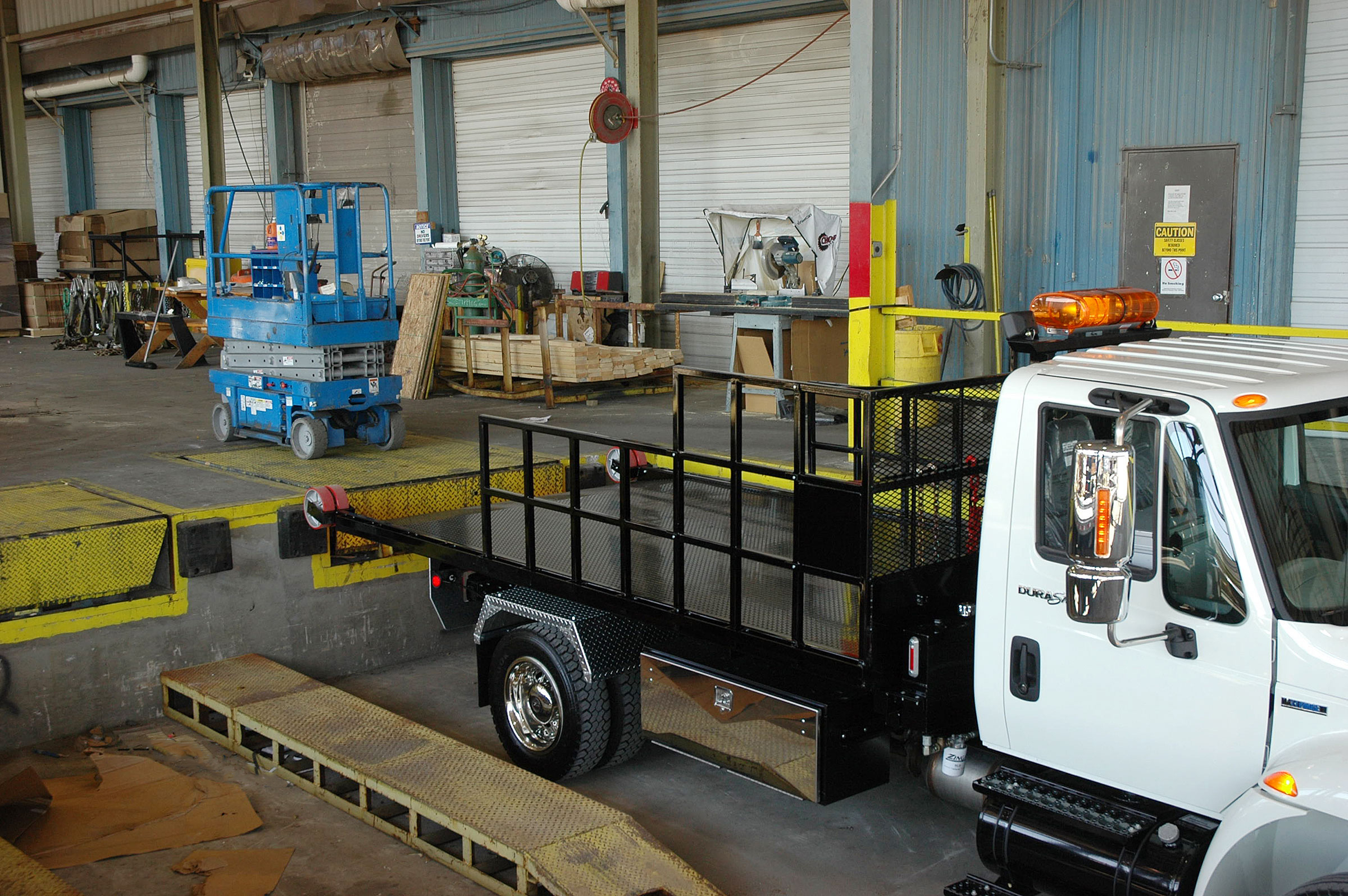 Titan® C-Series can be used at loading docks