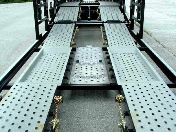 Other Multi-Vehicle Transporter Titan T7 Aluminum Drop Pocket Inserts / Center Catwalk