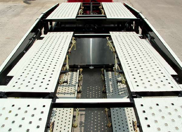 Other Multi-Vehicle Transporter Titan T7 Hydraulic Adjustable Upper Mid-Deck