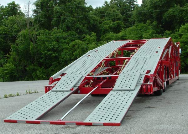 Other Multi-Vehicle Transporter Titan T7 Hydraulic Rear Loading Ramp