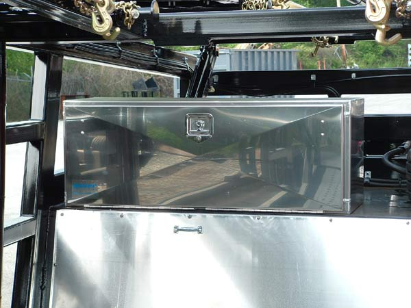 Other Multi-Vehicle Transporter Titan T7 Lockable Storage Box (Steel or Aluminum) (Optional)