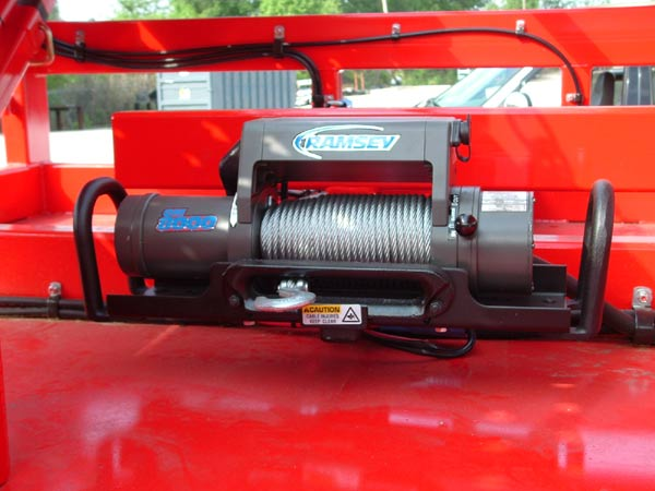 Other Multi-Vehicle Transporter Titan T7 Removable Electric Winch Kit (Optional)