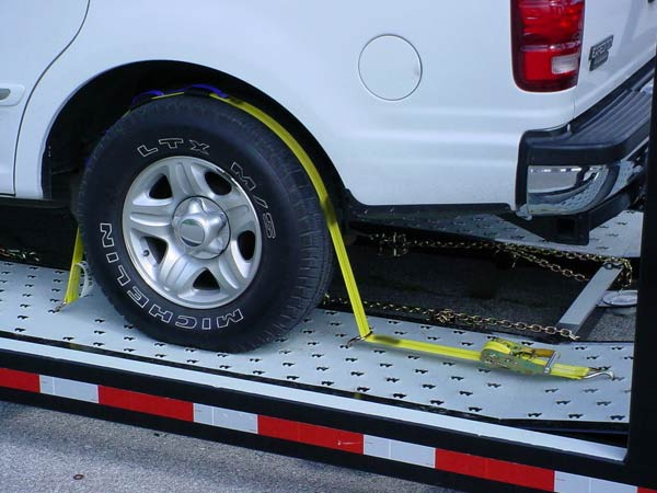 Other Multi-Vehicle Transporter Titan T7 Soft Tie Down Straps (Optional)