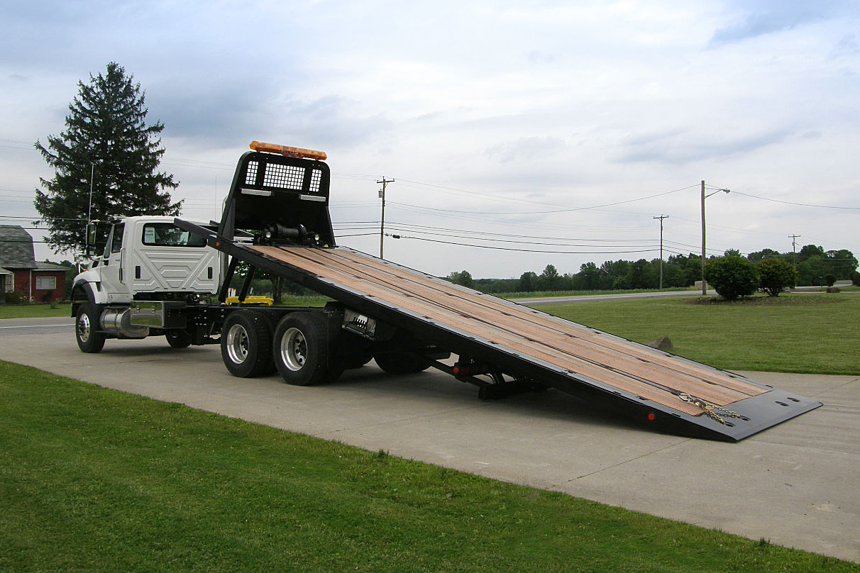 Car Carriers Conventional Industrial Chevron 30 Series Ramp