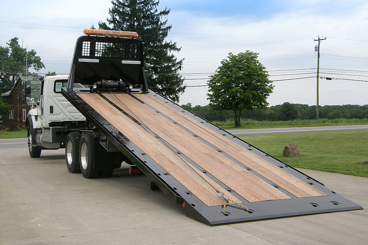 Car Carriers Conventional Industrial Century 30 Series Ramp