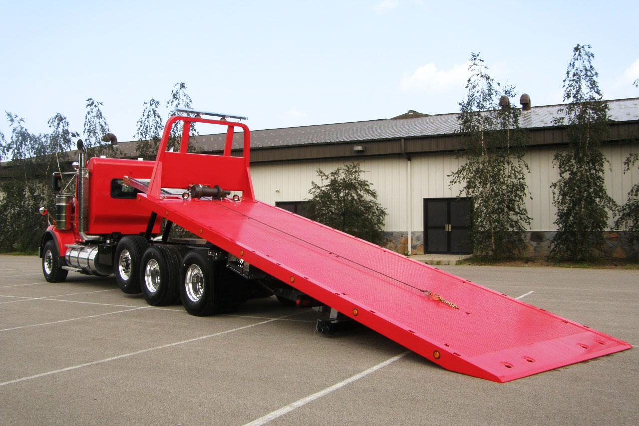 Car Carriers Conventional Industrial Chevron 40 Series Ramp