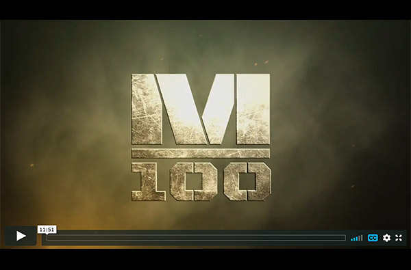 M100 debut behind the scenes video