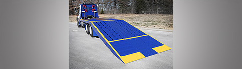 Titan Car Carriers Titan® Folding Ramp Flatbed