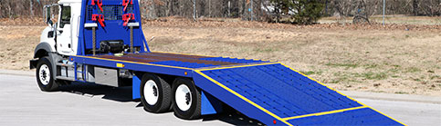 Century Special Transport Folding Ramp Flatbed