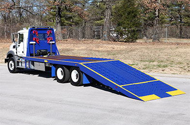 Century Multi-Vehicle Transporter Folding Ramp Flatbed