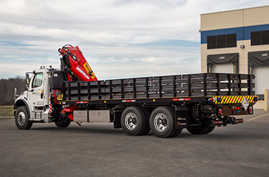 Titan Car Carriers Titan® Crane-Boom Stake Bed Unit